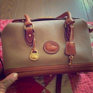 Vintage Dooney & Bourke doctor bag.